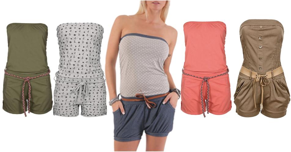 Kurze Jumpsuits für den perfekten Sommer-Look