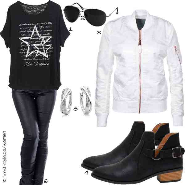 Top herren-Outfit im Finest-Trend-Style für ein selbstbewusstes Modegefühl mit tollen Produkten von Emma & Giovanni,Caspar,Alpha Industries,Anokar,Miore,Diva-Jeans