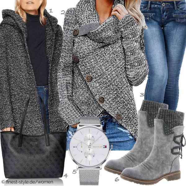 Top herren-Outfit im Finest-Trend-Style für ein selbstbewusstes Modegefühl mit tollen Produkten von ONLY NOS,Yidarton,Diva-Jeans,Guess,TOMMY HILFIGER,Rieker
