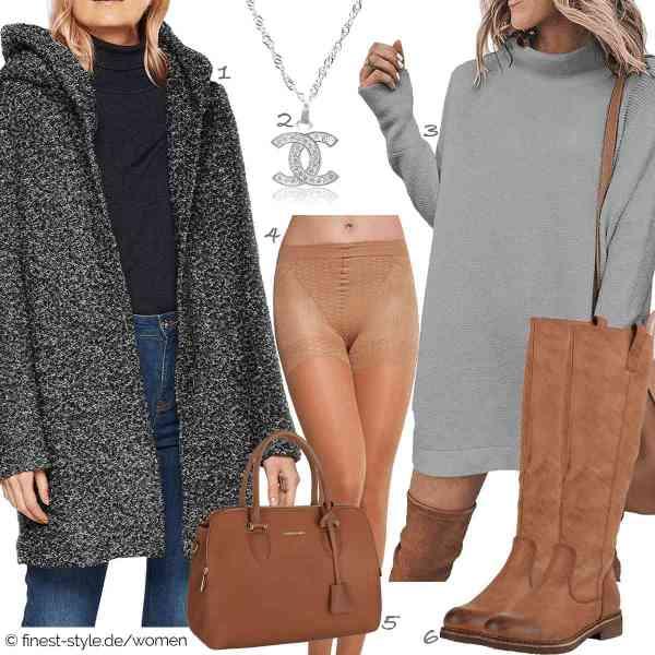 Top herren-Outfit im Finest-Trend-Style für ein selbstbewusstes Modegefühl mit tollen Produkten von ONLY NOS,Vision Creations,ECOWISH,Merry Style,David Jones,stiefelparadies