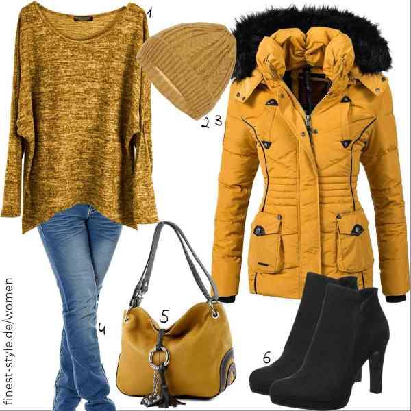 Top herren-Outfit im Finest-Trend-Style für ein selbstbewusstes Modegefühl mit tollen Produkten von Emma & Giovanni,Faera,Marikoo,Daleus,modamoda de,Tamaris