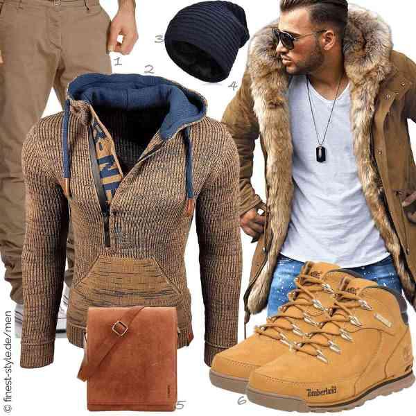 Top herren-Outfit im Finest-Trend-Style für ein selbstbewusstes Modegefühl mit tollen Produkten von Amaci&Sons,Rusty Neal,VBIGER,Rello & Reese,LEABAGS,Timberland