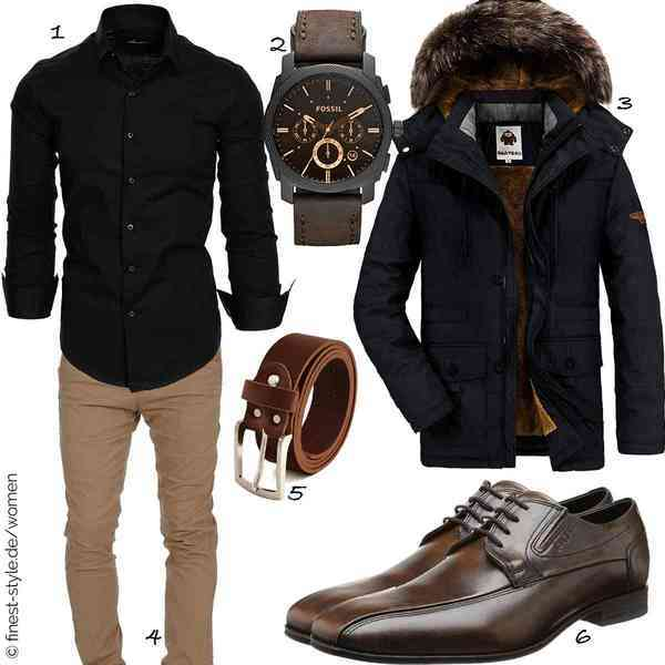 Top herren-Outfit im Finest-Trend-Style für ein selbstbewusstes Modegefühl mit tollen Produkten von ,,,,,