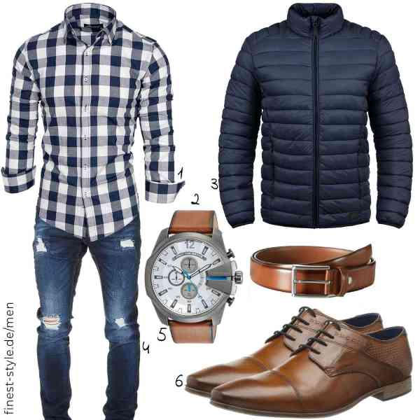 Top herren-Outfit im Finest-Trend-Style für ein selbstbewusstes Modegefühl mit tollen Produkten von Amaci&Sons,Diesel,Blend,Amaci&Sons,MLT Belts & Accessoires,bugatti