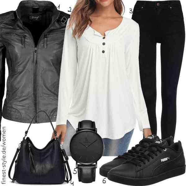 Top herren-Outfit im Finest-Trend-Style für ein selbstbewusstes Modegefühl mit tollen Produkten von ,,FIND,,Alienwork,