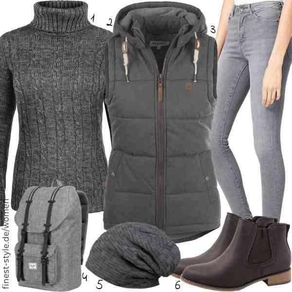 Top herren-Outfit im Finest-Trend-Style für ein selbstbewusstes Modegefühl mit tollen Produkten von DESIRES,DESIRES,,Herschel,styleBREAKER,Elara