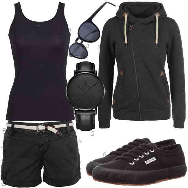 Top herren-Outfit im Finest-Trend-Style für ein selbstbewusstes Modegefühl mit tollen Produkten von ,,DESIRES,,Alienwork,Superga