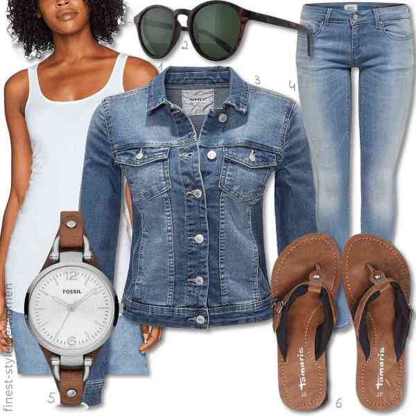 Top herren-Outfit im Finest-Trend-Style für ein selbstbewusstes Modegefühl mit tollen Produkten von VERO MODA,,ONLY,,Fossil,