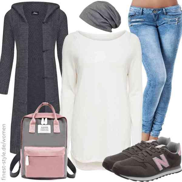 Top herren-Outfit im Finest-Trend-Style für ein selbstbewusstes Modegefühl mit tollen Produkten von Mikos,styleBREAKER,,,,New Balance