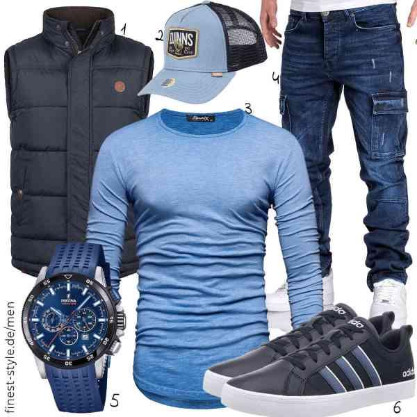 Top herren-Outfit im Finest-Trend-Style für ein selbstbewusstes Modegefühl mit tollen Produkten von ,Djinns,REPUBLIX,,,