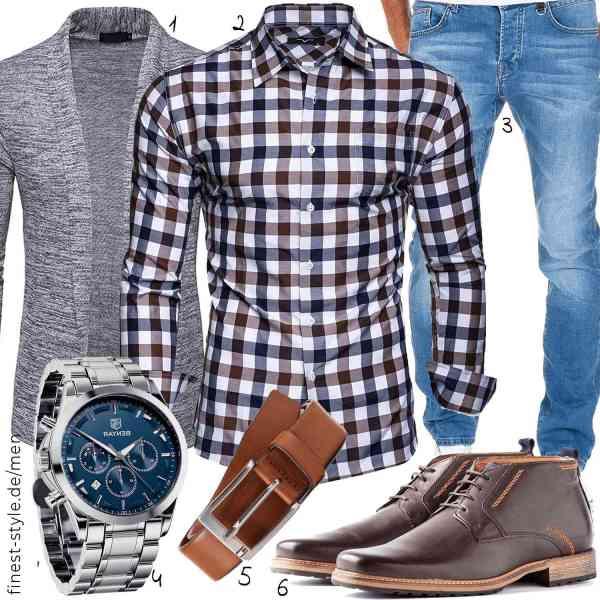 Top herren-Outfit im Finest-Trend-Style für ein selbstbewusstes Modegefühl mit tollen Produkten von WHATLEES,Kayhan,Amaci&Sons,,Tommy Hilfiger,Travelin
