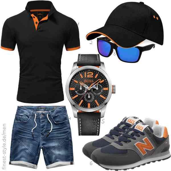 Top herren-Outfit im Finest-Trend-Style für ein selbstbewusstes Modegefühl mit tollen Produkten von ,,,,Hugo Boss Orange,