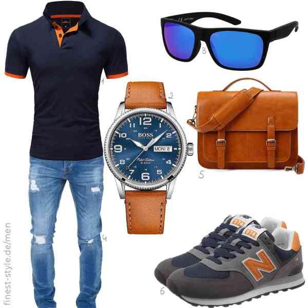 Top herren-Outfit im Finest-Trend-Style für ein selbstbewusstes Modegefühl mit tollen Produkten von Amaci&Sons,Hugo Boss,,Amaci&Sons,,