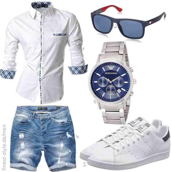 Top herren-Outfit im Finest-Trend-Style für ein selbstbewusstes Modegefühl mit tollen Produkten von ,,Emporio Armani,Amaci&Sons,