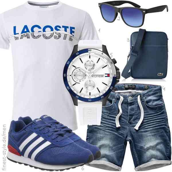 Top herren-Outfit im Finest-Trend-Style für ein selbstbewusstes Modegefühl mit tollen Produkten von ,,,,,adidas