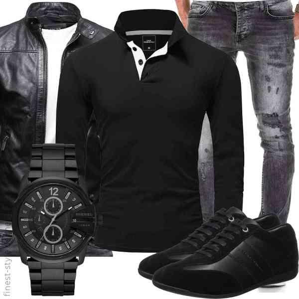 Top herren-Outfit im Finest-Trend-Style für ein selbstbewusstes Modegefühl mit tollen Produkten von ,,,Diesel,