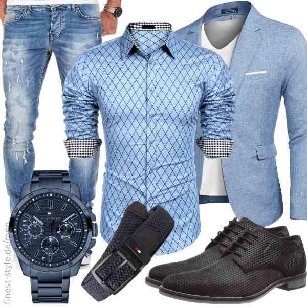 Top herren-Outfit im Finest-Trend-Style für ein selbstbewusstes Modegefühl mit tollen Produkten von ,,MAXMODA,,,Tommy Hilfiger