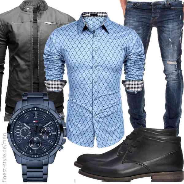Top herren-Outfit im Finest-Trend-Style für ein selbstbewusstes Modegefühl mit tollen Produkten von Crone,,Amaci&Sons,Tommy Hilfiger,