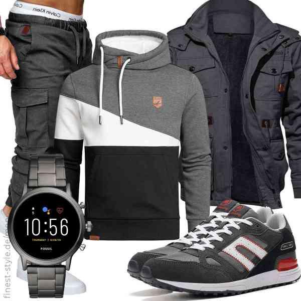 Top herren-Outfit im Finest-Trend-Style für ein selbstbewusstes Modegefühl mit tollen Produkten von REPUBLIX,,,,