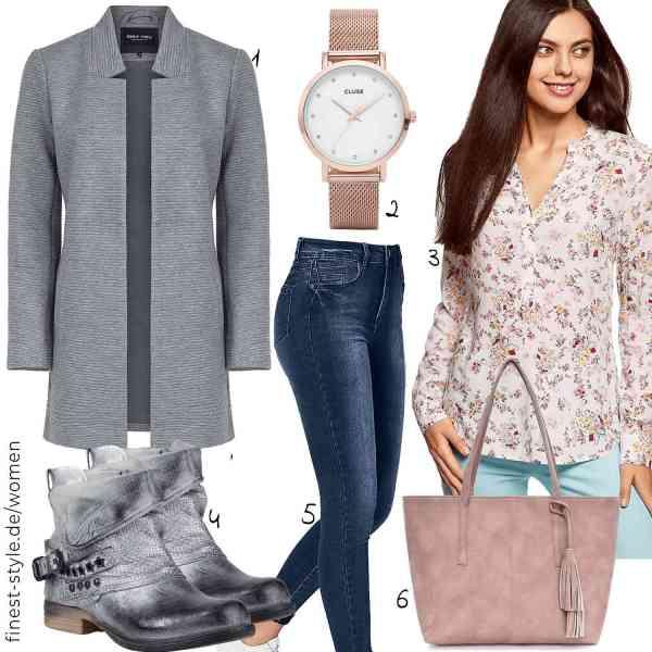 Top herren-Outfit im Finest-Trend-Style für ein selbstbewusstes Modegefühl mit tollen Produkten von ONLY,CLUSE,oodji Collection,stiefelparadies,find.,TIBES