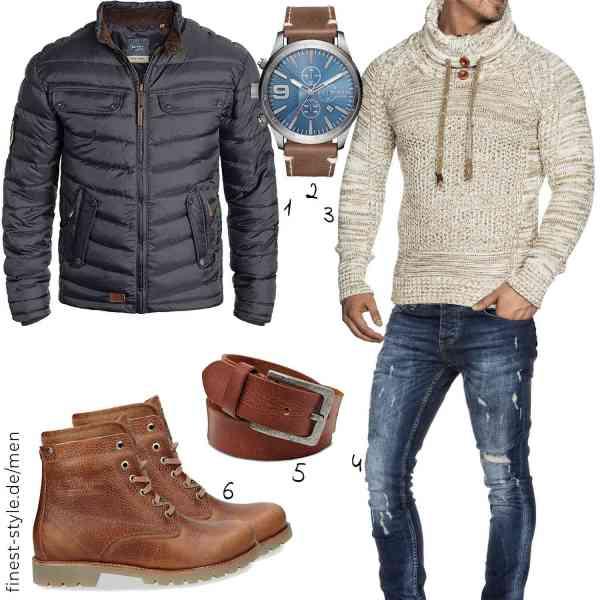 Top herren-Outfit im Finest-Trend-Style für ein selbstbewusstes Modegefühl mit tollen Produkten von Blend,Diesel,Tazzio,Amaci&Sons,ROYALZ,Panama Jack