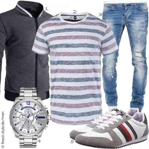 Top herren-Outfit im Finest-Trend-Style für ein selbstbewusstes Modegefühl mit tollen Produkten von WHATLEES,!Solid,Amaci&Sons,Diesel,Tommy Hilfiger