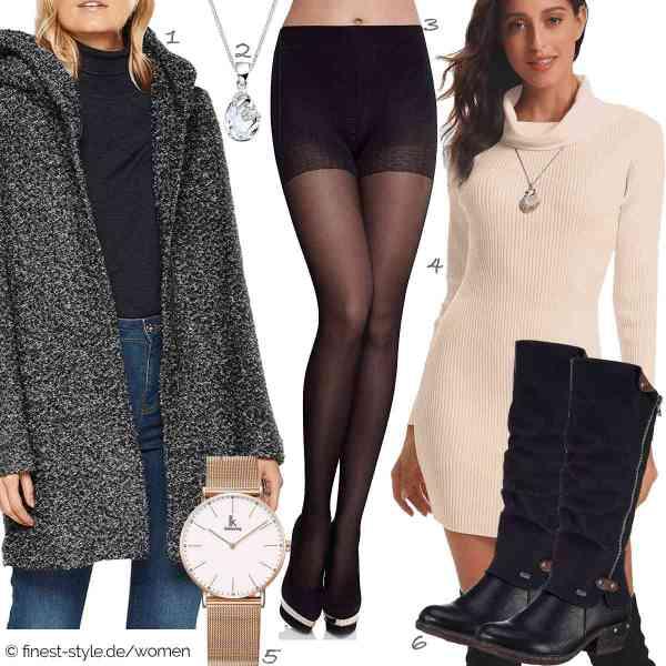 Top herren-Outfit im Finest-Trend-Style für ein selbstbewusstes Modegefühl mit tollen Produkten von ONLY NOS,Elli,Merry Style,Abollria,Alienwork,Rieker