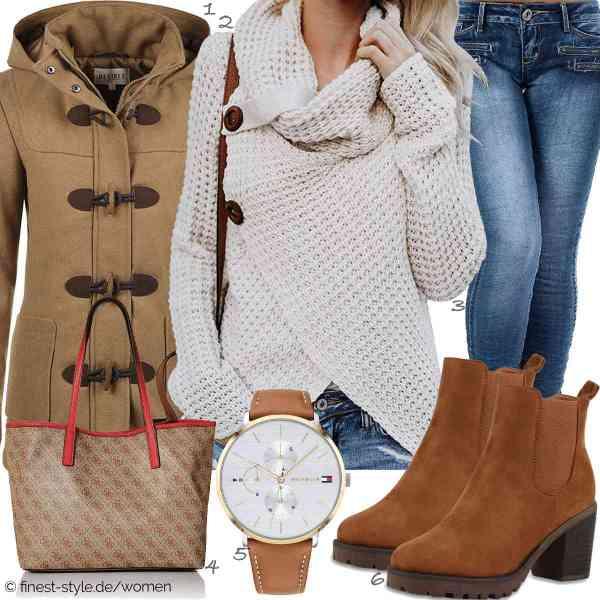 Top herren-Outfit im Finest-Trend-Style für ein selbstbewusstes Modegefühl mit tollen Produkten von DESIRES,Yidarton,Diva-Jeans,Guess,Tommy Hilfiger,stiefelparadies