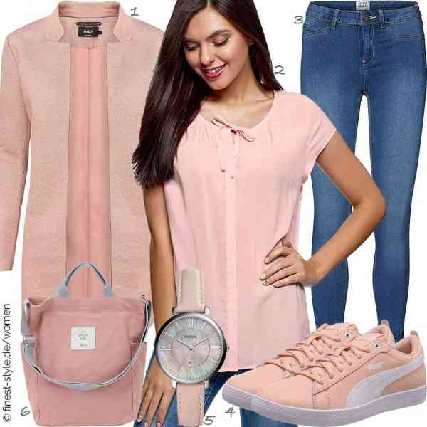 Top herren-Outfit im Finest-Trend-Style für ein selbstbewusstes Modegefühl mit tollen Produkten von ONLY,oodji Ultra,VERO MODA,PUMA,Fossil,Gindoly