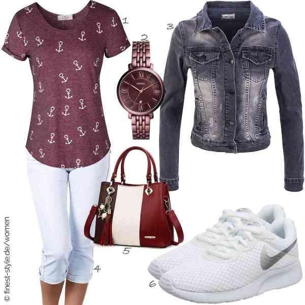 Top herren-Outfit im Finest-Trend-Style für ein selbstbewusstes Modegefühl mit tollen Produkten von ELFIN,Fossil,Rock Creek,Diva-Jeans,Pomelo Best,Nike