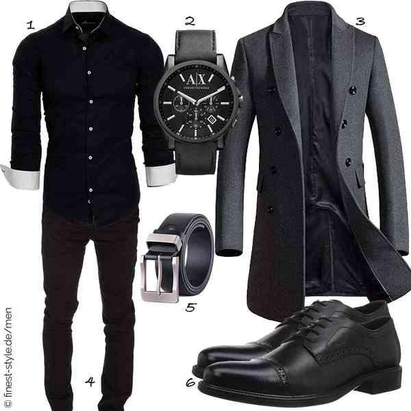 Top Herren-Outfit im Finest-Trend-Style für ein selbstbewusstes Modegefühl mit tollen Produkten von Amaci&Sons,Armani Exchange,Vogstyle,Amaci&Sons,XIANGUO,Geox