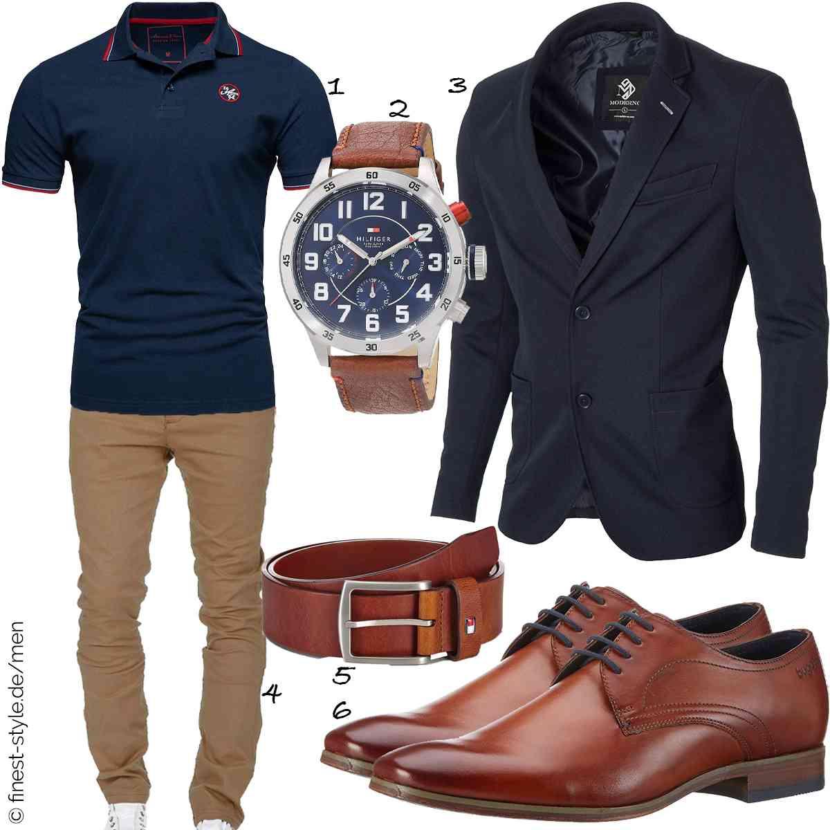 Top Herren-Outfit im Finest-Trend-Style für ein selbstbewusstes Modegefühl mit tollen Produkten von Amaci&Sons,Tommy Hilfiger,MODERNO,Amaci&Sons,Tommy Hilfiger,Bugatti