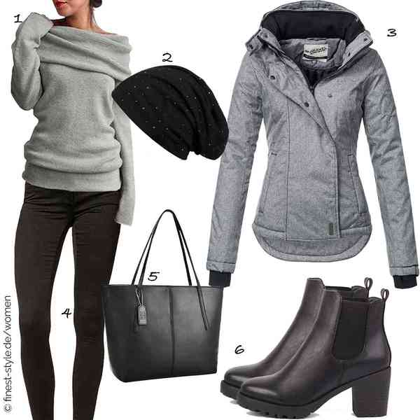 Top Damen-Outfit im Finest-Trend-Style für ein selbstbewusstes Modegefühl mit tollen Produkten von ZANZEA,styleBREAKER,Sublevel,ONLY,Coofit,best-boots