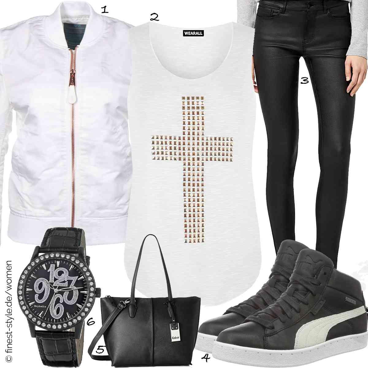 Top Herren-Outfit im Finest-Trend-Style für ein selbstbewusstes Modegefühl mit tollen Produkten von Alpha Industries,WearAll,VERO MODA,Puma,Gabor,Orphelia