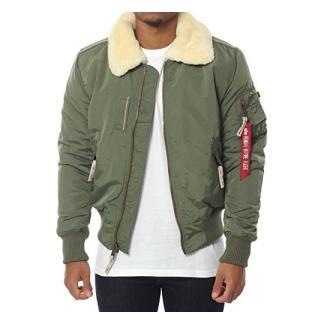 ALPHA INDUSTRIES INJECTOR III Jacke XL dunkelgrün