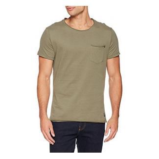 Blend Herren T-Shirt 20704969, Grün (Dusty Olive Green 77203), Large