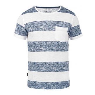 BLEND Vegas 201704667ME T-Shirt, Größe:M;Farbe:Navy (70230)