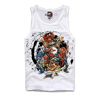 E1SYNDICATE TANK TOP SHIRT BOYS NIGHT OUT PARTY COCAINE CRAZY ROCK BAND THE ANIMAL S-XL