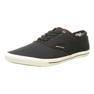 JACK & JONES Jjspider Canvas Sneaker, Herren Sneakers, Schwarz (Anthracite), 40 EU (6.5 Herren UK)