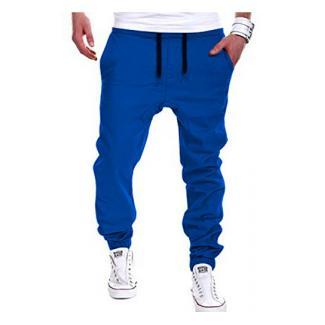 Junshan chino hose herren outdoor locker jogger pants wanderhose mit Gummilitze (grau, 5XL)
