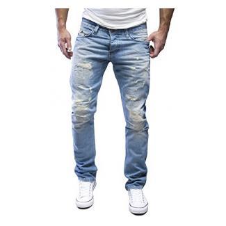 MERISH Jeans Modell J1154 Hellblau 34/30