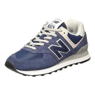 New Balance Damen WL574EN Sneaker, Blau (WL574EN), 40.5 EU
