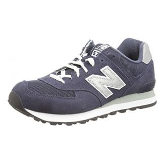 New Balance Herren 574 Core Low-Top, Blau (M574NBU), 44.5 EU