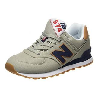 New Balance Herren ML574Y Yatch Pack Sneaker, Weiß (ML574YLB), 40 EU