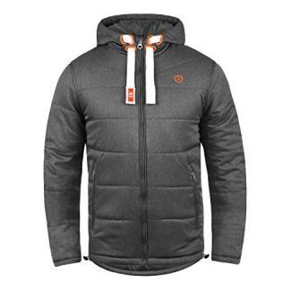 !Solid Bendix Herren Übergangsjacke Herrenjacke Jacke Mit Kapuze, Größe:XL, Farbe:Grey Melange (8236)