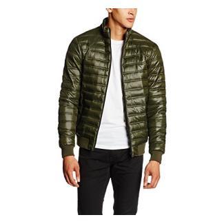 Solid Herren Blouson Jacke, Jacket - Derring, Gr. Large (Herstellergröße: L), Grün (ROSIN 3400)