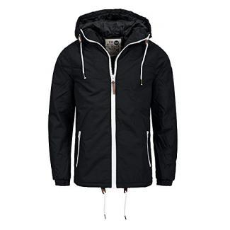 !SOLID Herren Spunk Übergangsjacke Jacke mit Kapuze aus hochwertigem Material