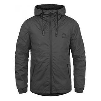 !Solid Tilden Sporty Herren Übergangsjacke Herrenjacke Jacke Mit Kapuze, Größe:S, Farbe:Dark Grey (2890)