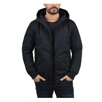 !Solid Tilly Sporty Herren Übergangsjacke Herrenjacke Jacke Mit Kapuze, Größe:L, Farbe:Insignia Blue (1991)