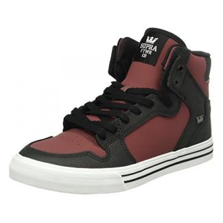 Supra Herren Vaider High-Top, Schwarz (Plum/Black-White 657), 44 EU